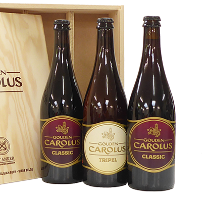 Order Belgian beers for a birthday or as a business gift